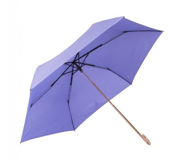 boy超輕金色彎頭公主傘 (淺紫)