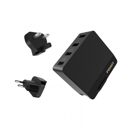 Pisen 智慧旅行充電器(全球充)4口 TS-C085