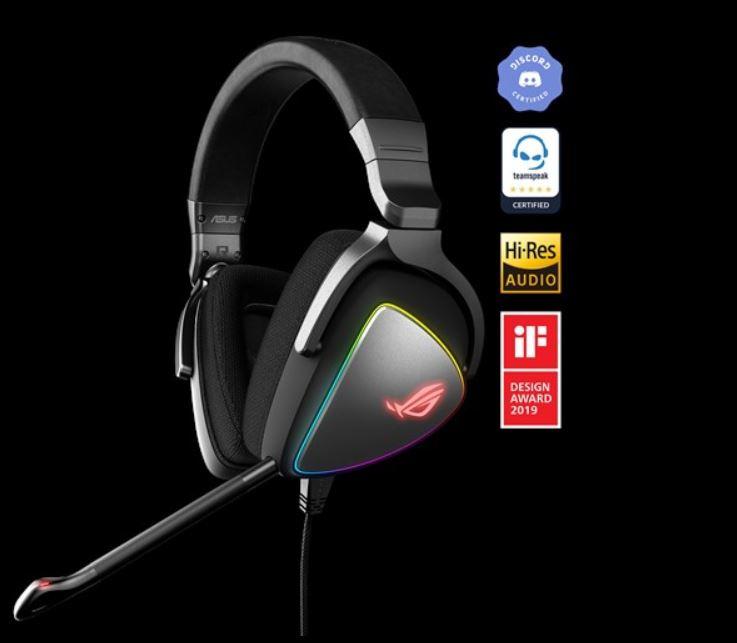 華碩 ASUS ROG Delta [BLACK / WHITE] 無線電競耳機