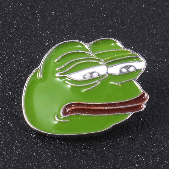 PePe the Frog 金屬襟章