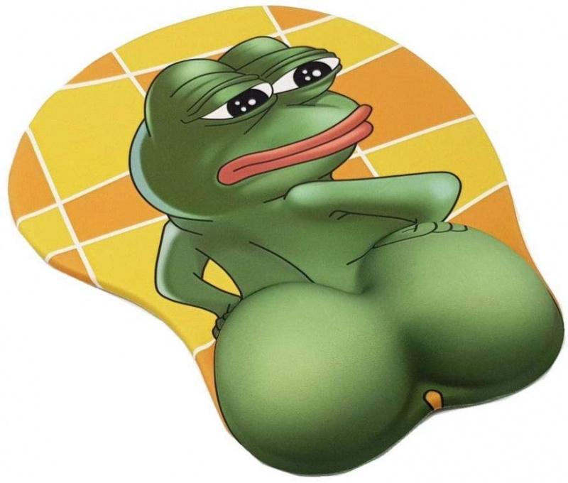 Pepe the Frog 3D滑鼠墊