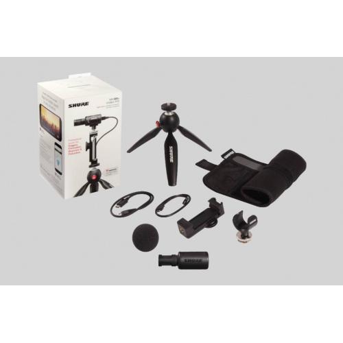 Shure MV88+ 攝錄套裝,隨附數碼立體聲電容式咪高風