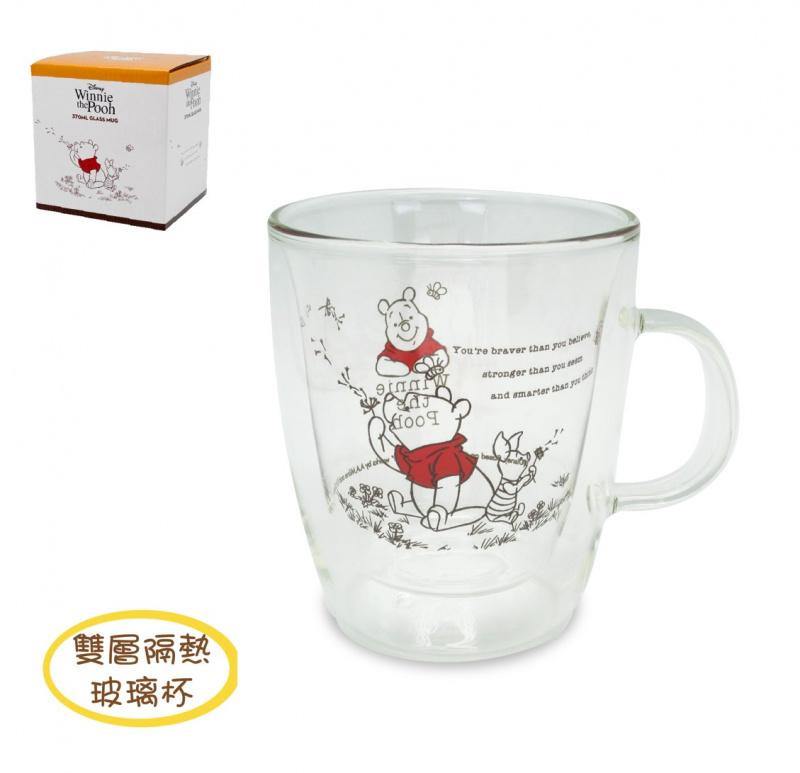 米奇/迷你兵團/小熊維尼雙層玻璃杯