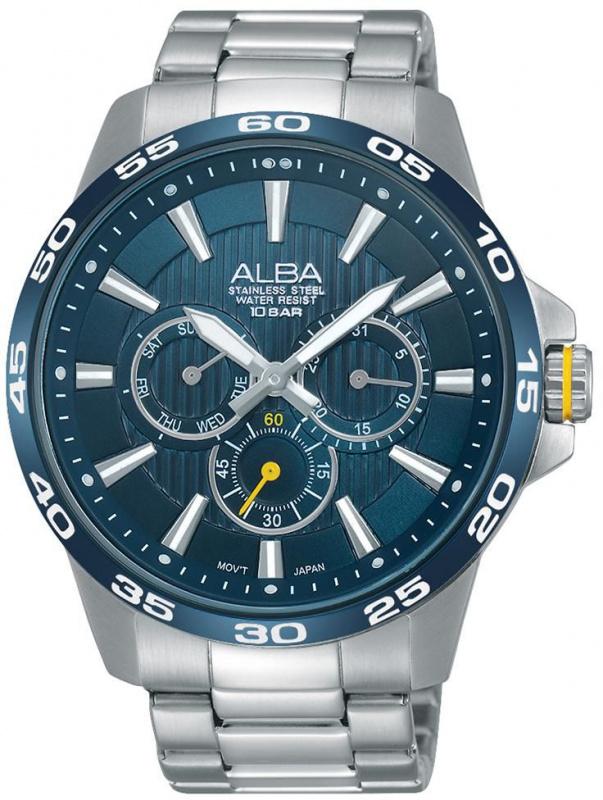 Alba 雅柏錶 AP6305X1 Active Chronograph Watch 計時石英錶