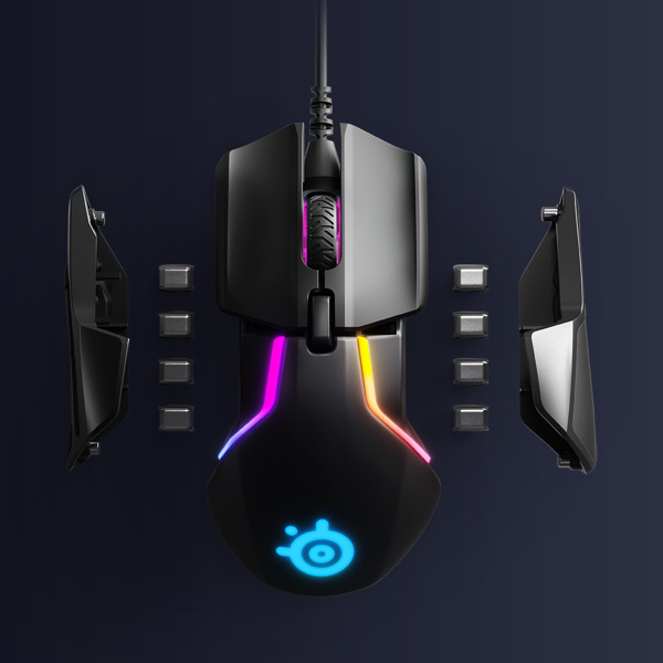 SteelSeries Rival 600 雙重光學滑鼠