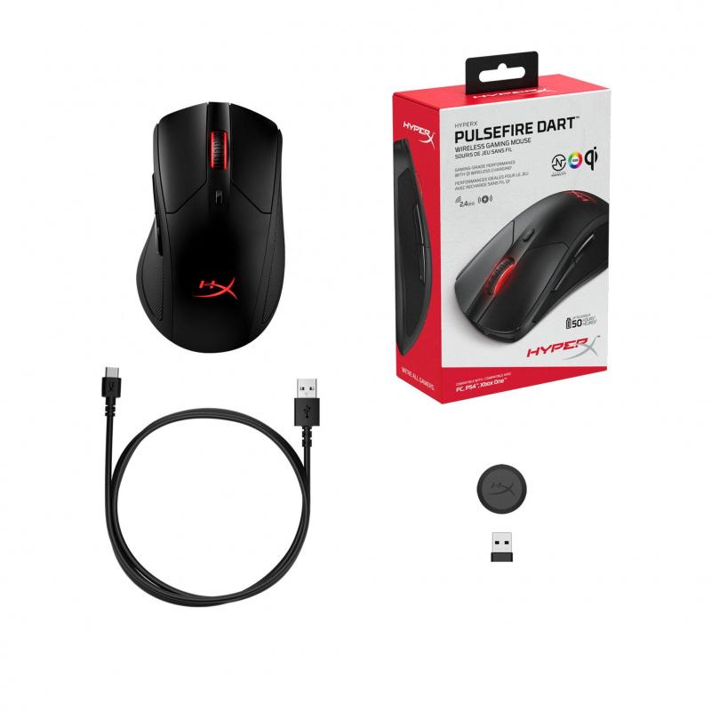 Kingston HyperX Pulsefire Dart 無線電競滑鼠