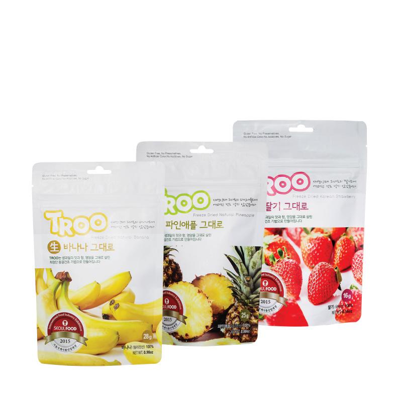獲獎韓國天然冷凍乾果零食(香蕉+菠蘿+草莓)