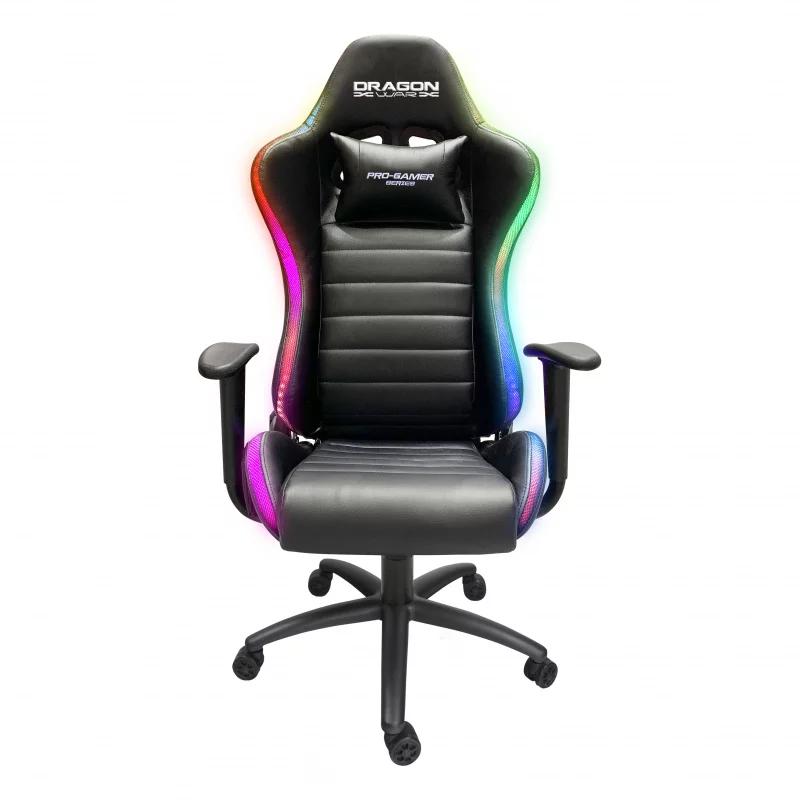 Dragon War - GC-015 RGB 發光燈效 專業電競椅
