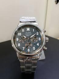 Seiko Alba 雅柏錶 AT3A59X1 Chronograph Watch 計時石英錶