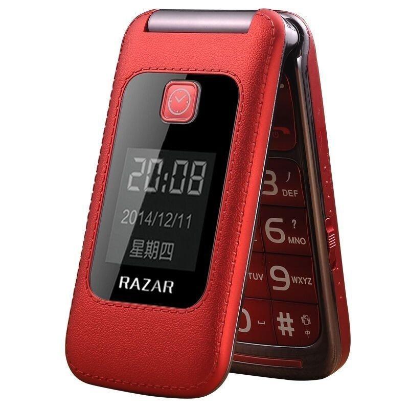 RAZAR 4G 翻蓋大字手機 [2色]