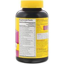 美國Nature Made Prenatal Multi孕婦綜合維生素+DHA supplement 150粒
