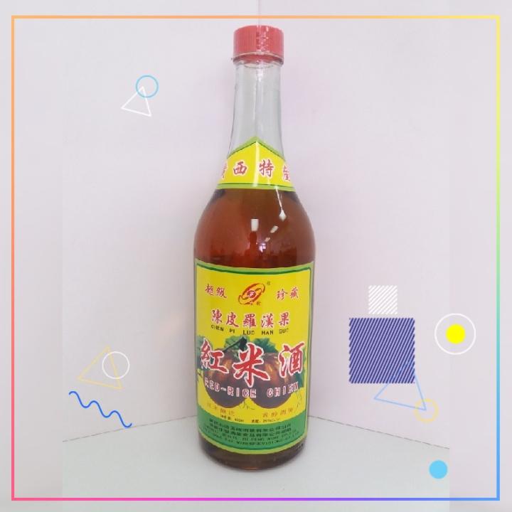 生發牌陳皮羅漢果紅米酒 $528/箱
