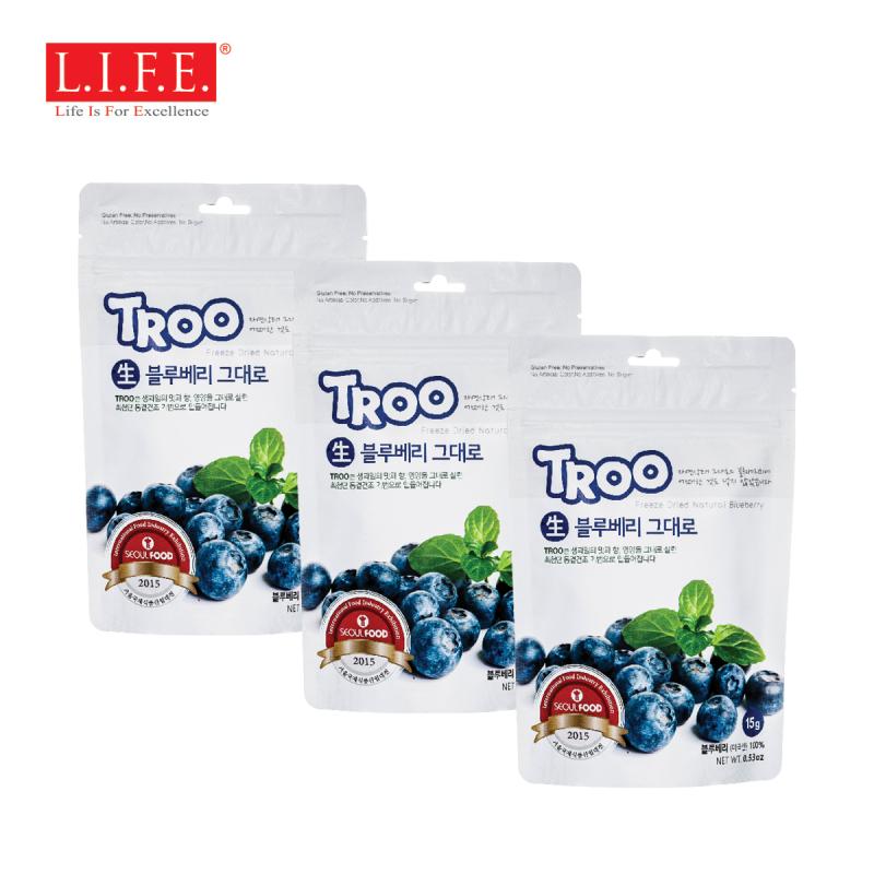 獲獎韓國天然冷凍乾果(藍莓) [三包裝]