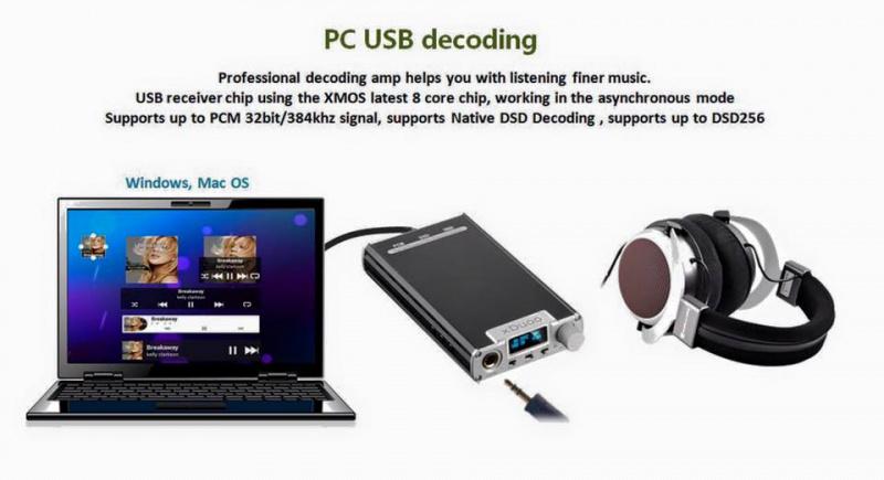 XDUOO XD-05 Portable Dac headphone AMP 平衡進口