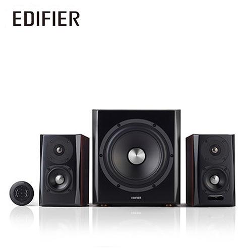 EDIFIER S350DB 2.1聲道 藍牙喇叭 [啡色}