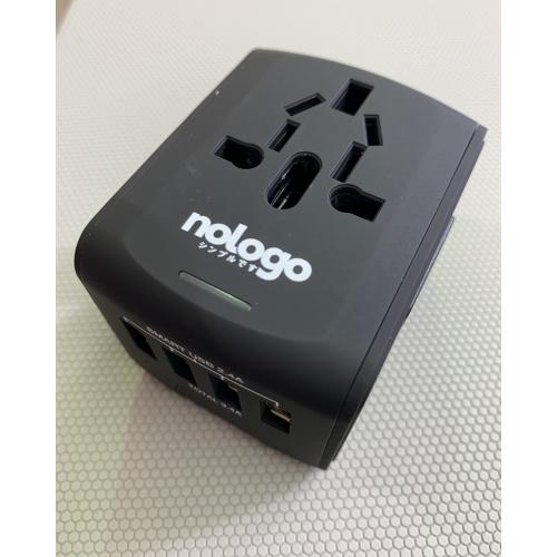 nologo 4位USB 旅遊萬用插座