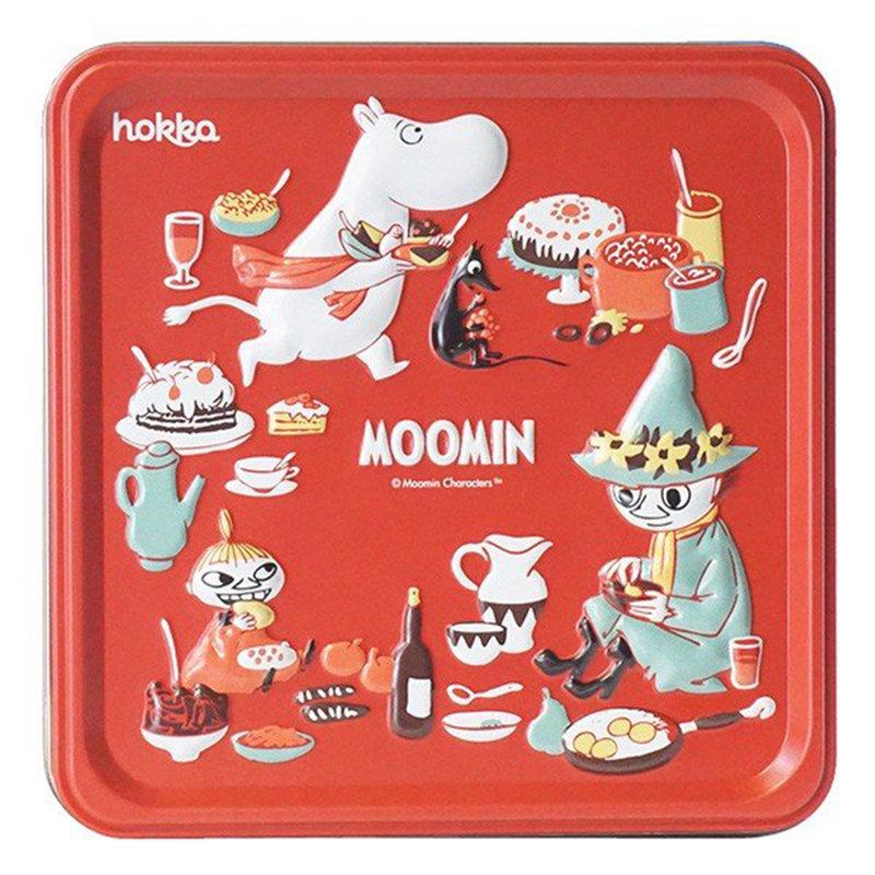 日版 姆明 阿美 史力奇 紅色鐵罐禮盒裝造型曲奇 (年度限定版)【市集世界 - 日本市集】