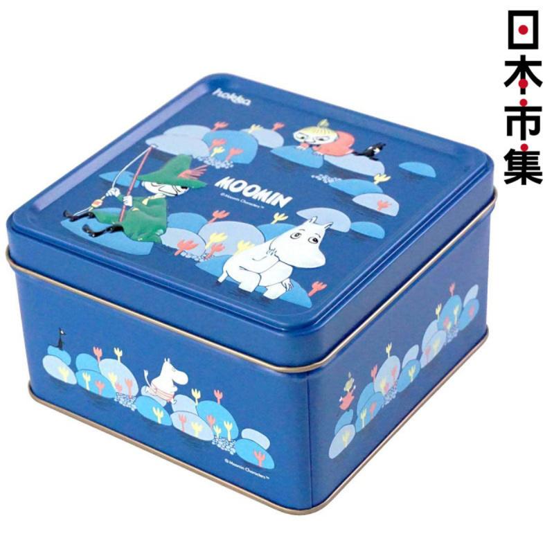 日版 姆明 阿美 史力奇 藍色鐵罐禮盒裝造型曲奇 (年度限定版)【市集世界 - 日本市集】