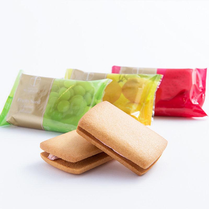 日本【銀座千疋屋】水果三文治糕餅 3款味道 (6件 禮盒裝)【市集世界 - 日本市集】