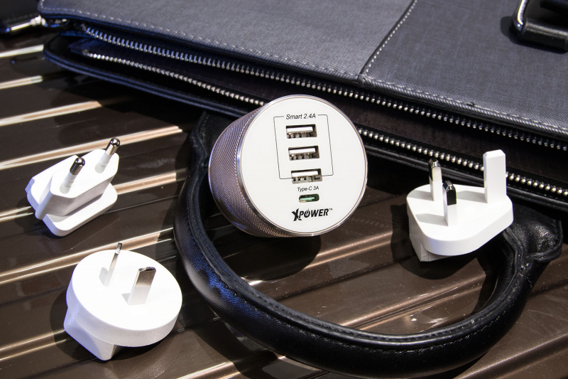 Xpower WC4C 4-port Type-C & USB旅行充電器
