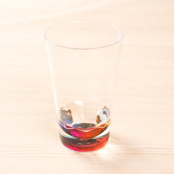 Nitori 彩虹玻璃杯