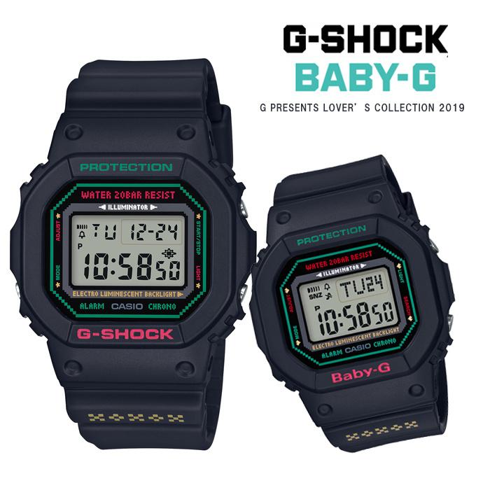 G-Shock * Baby G 限定天使惡魔情侶對錶 # LOV-19B-1