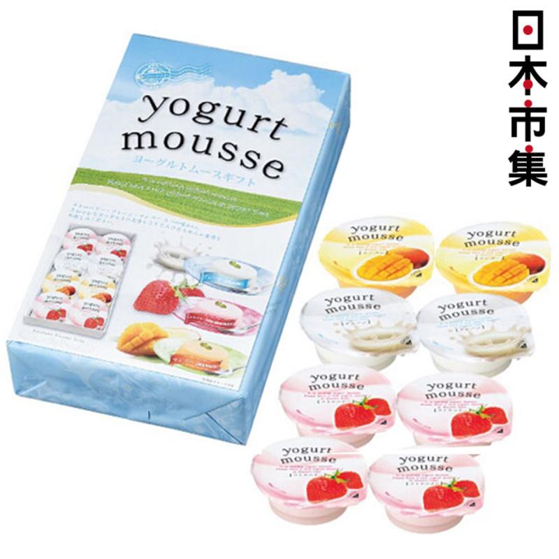 日版金澤兼六製菓乳酪雜錦水果布甸 1盒8個【市集世界 - 日本市集】