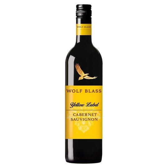 禾富黃牌赤霞珠澳洲紅酒 Wolf Blass Yellow Label Cabernet Sauvignon 2017 750ml Screw Cap - 12411820