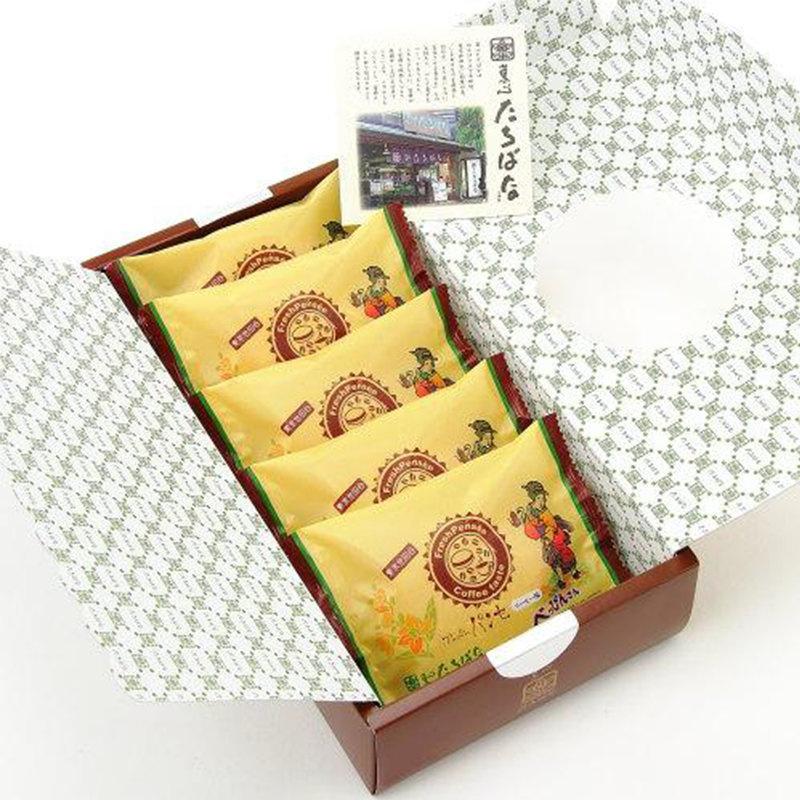 日本【十勝橘 x 世田谷珈琲店】人氣咖啡忌廉夾心蛋糕 (5件 禮盒裝)【市集世界 - 日本市集】