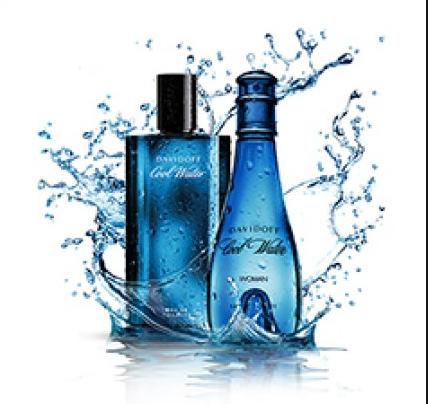 Davidoff Cool Water Men EDT 冷水男性淡香水125ml + Cool Water Women EDT 冷水女性淡香水 100ml