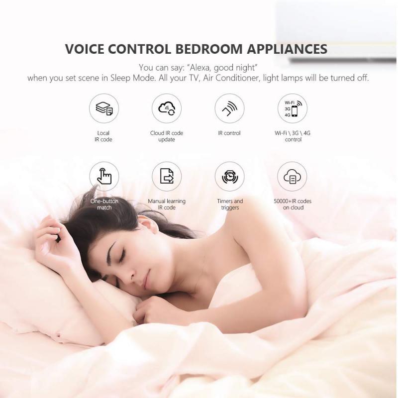 Broadlink BestCon RM4C迷你通用紅外音頻視頻遙控器 (平行進口)(免費送貨)