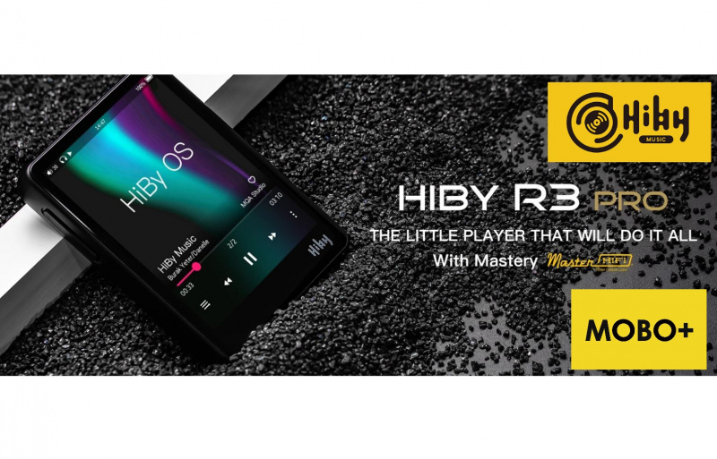 HiBy R3 Pro 播放器 【3色】 NEW COLOR ::RED