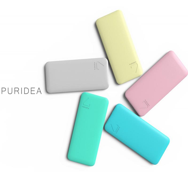 PURIDEA S4 6000mAh 聚合物移動電源(隨機顏色)
