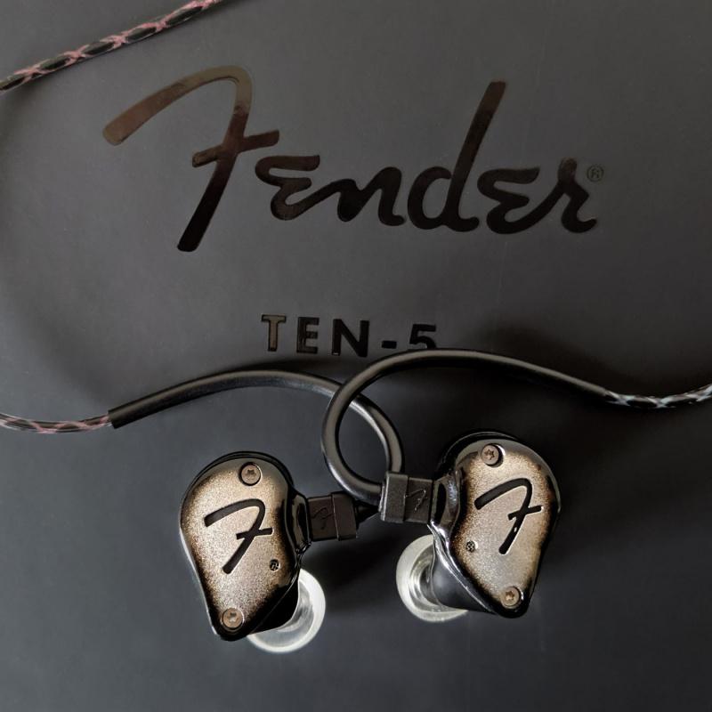 Fender Ten 5 ( 5動鐵 + 1 x10mm HDD動圈單元)
