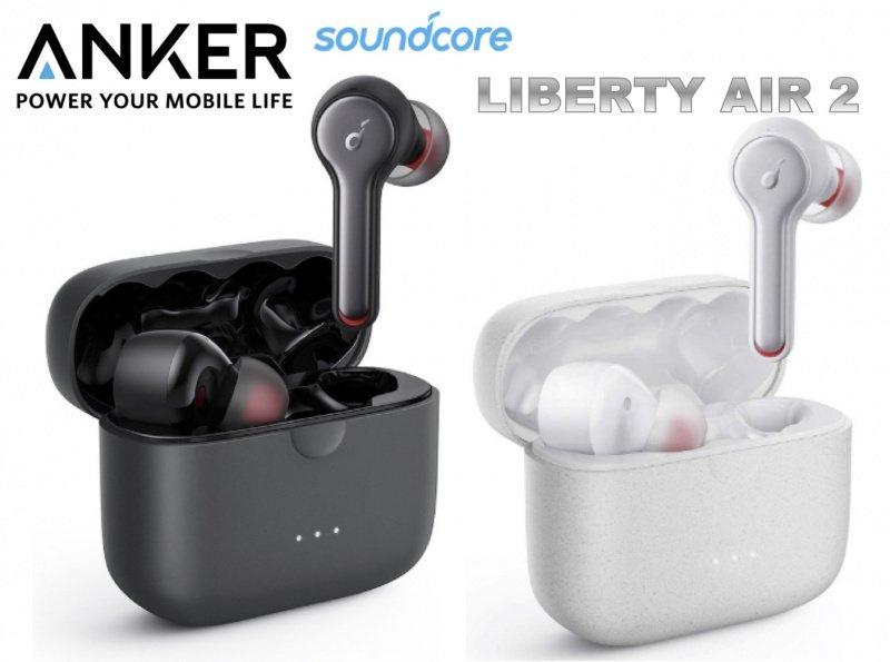 Anker SoundCore Liberty Air 2 真無線藍牙耳機 [黑色]