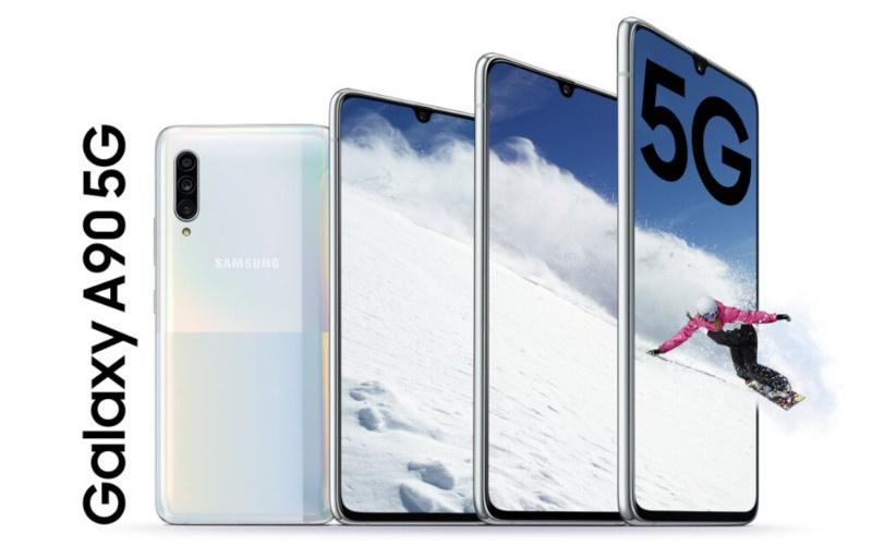 🇰🇷韓國最新型號🔥 Samsung Galaxy A90 5G 高配版本Snapdragon 855旗艦cpu+4500MaH電量