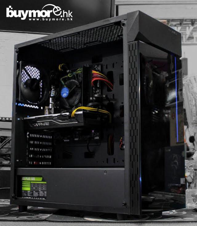 💡【i5電競組合Whatsapp:21173773網上落單】 Intel Core i5-9400F處理器 GIGABYTE GA-H310M S2H主板 Kingston 8GB記憶體 Adata 256G SX6200 NVMe SSD SAPPHIRE RX 570 顯卡 AEROCOOL Aero-300機箱/500W火牛