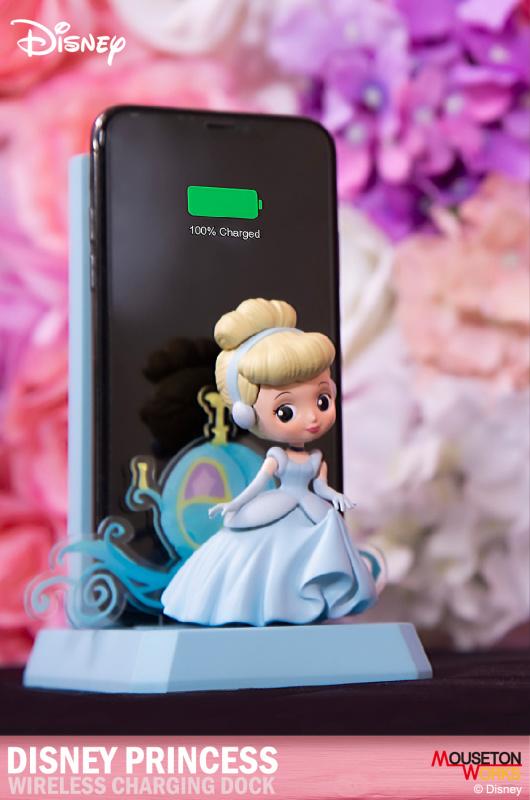 迪士尼-小夜燈無線充電座