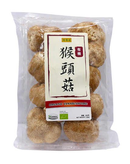 綠糧莊-有機猴頭菇120G