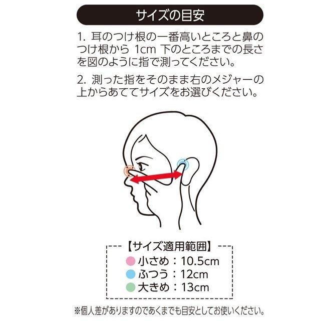 【現貨發售】日本製 超立體3D柔軟三層高密度過濾 口罩 (綠色盒裝面形較闊尺寸)(30枚入)