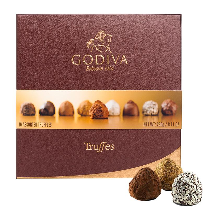 比利時版Godiva 豪華松露雜錦朱古力 名貴禮盒 (16粒裝)【市集世界 - MOAN】