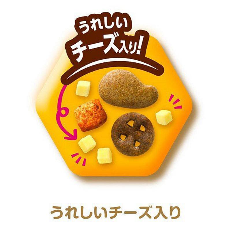 日版Unicharm【芝士雞肉配各種風味魚】銀湯匙貓專用零食 60g【市集世界 - 日本市集】