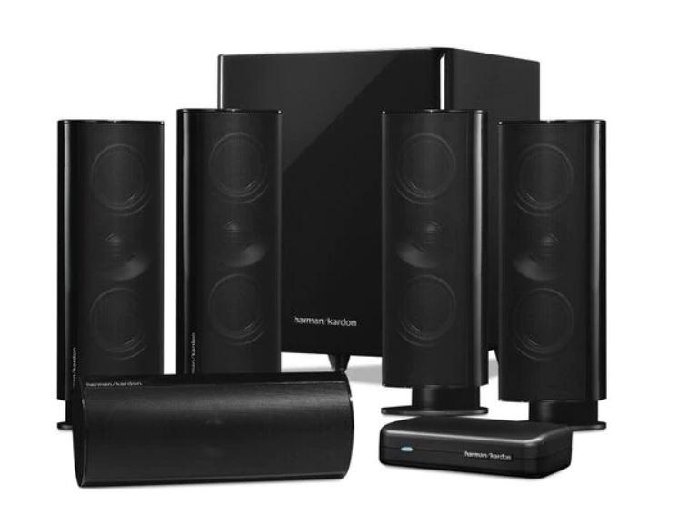 Harman Kardon® HKTS 65 / AVR 370 7.2 Channel Wireless [組合]