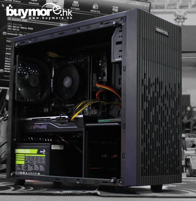 💡【電競組合Whatsapp:69696926網上落單】 AMD Ryzen 5 3600處理器 MSI B450M MORTAR MAX主板 G.SKILL Aegis 16GB 3000mHZ記憶體 KINGSTON A2000 250G NVMe SSD SAPPHIRE RX570 4G顯卡 DEEPCOOL MATREXX 30機箱/AEROCOOL VX-500 50