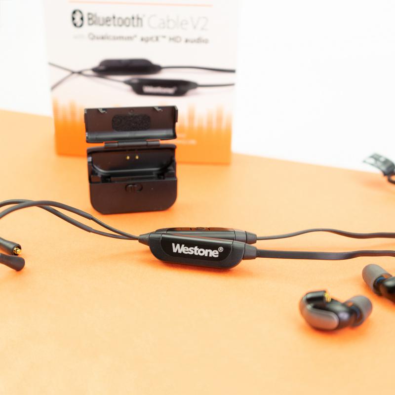 Westone Bluetooth V2 Cable with Qualcomm aptX HD audio