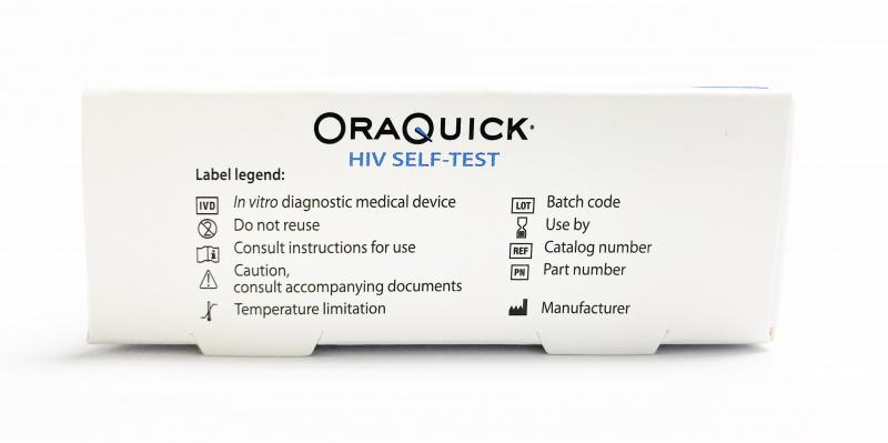 Oraquick 愛滋病病毒 (HIV Self Test ) 快速自我測試