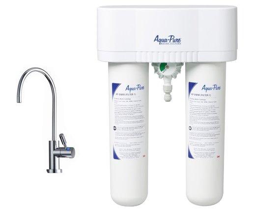 3M 優質型濾水器 DWS1000 Aqua-Pure Water Filter System (配LED 獨立水龍頭 Faucet-ID1)