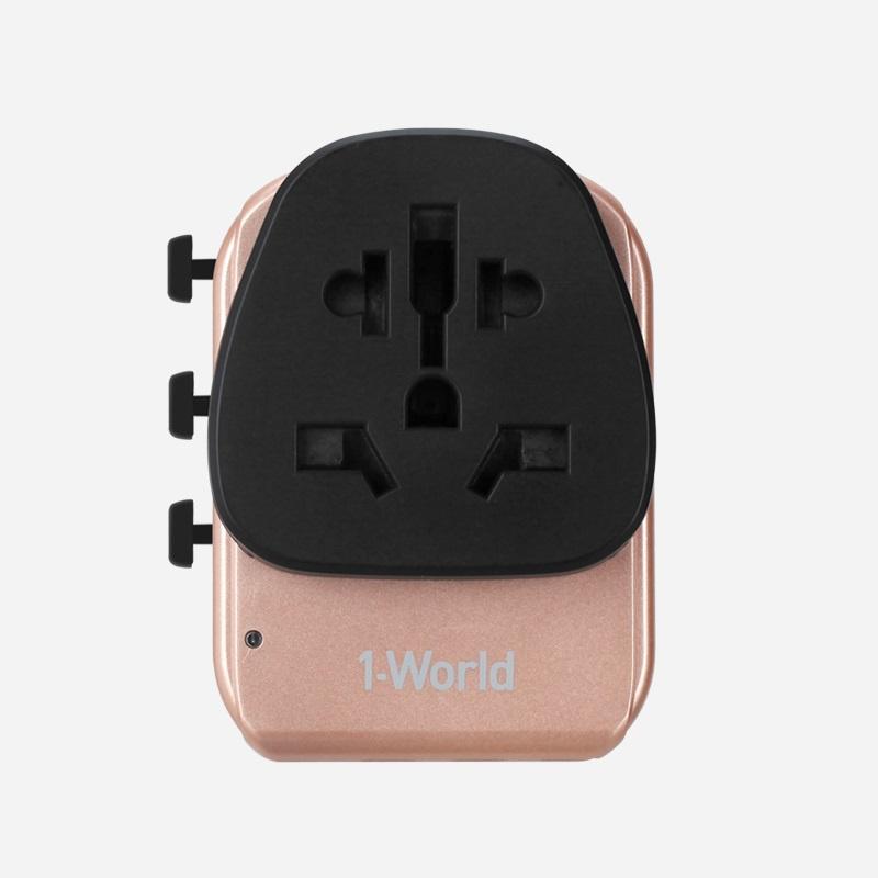 MOMAX 1-World 旅行插座 (Type-C PD 30W + 3 USB) UA7 【行貨保養】