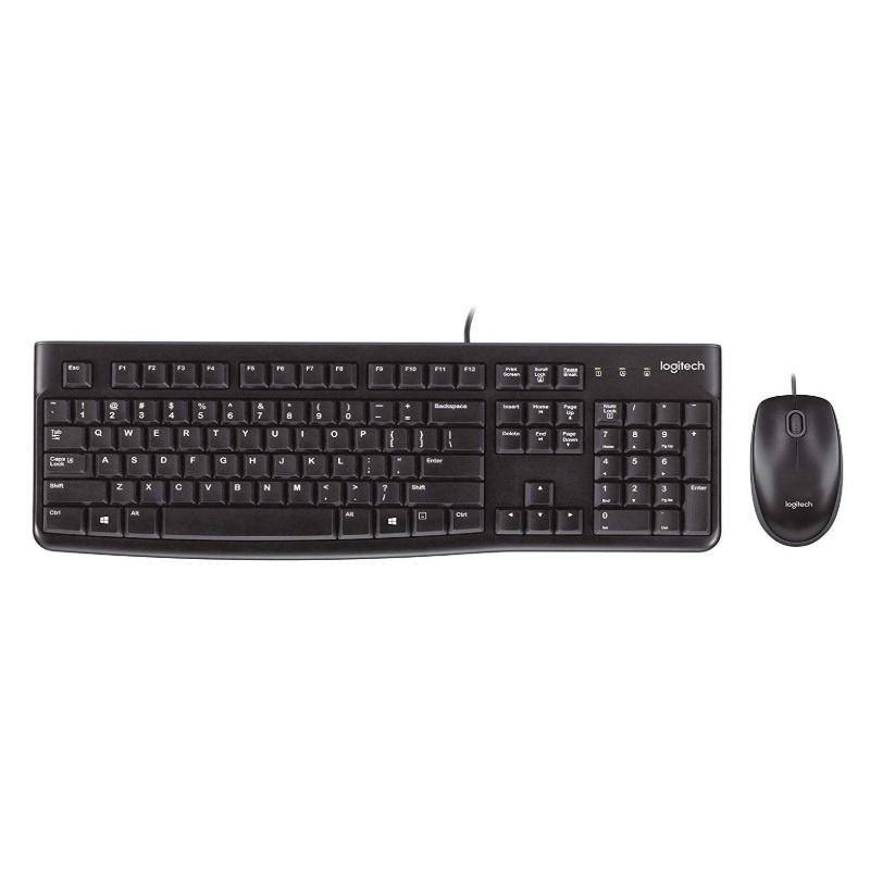 Logitech MK120 滑鼠鍵盤組