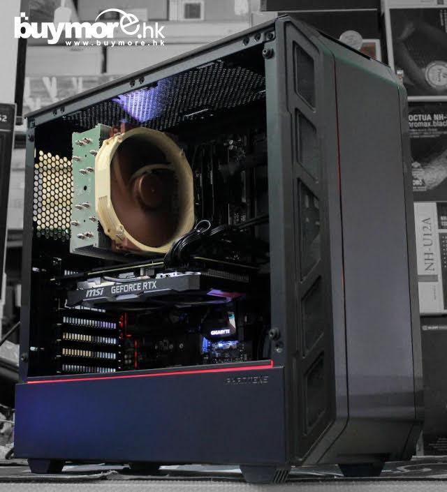 💡【電競組合Whatsapp:69696926網上落單】 Intel Core I7-9700處理器 GIGABYTE Z390 AORUS ELITE主板 G.SKILL Aegis 16G 3000Mhz記憶體 ADATA SX6000 512GB NVMe SSD MSI GeForce RTX2070 8G顯卡 Phanteks Eclipse P400A機箱/Cor